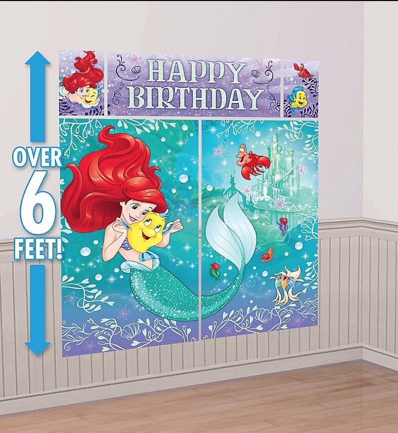 Paw Patrol Scene Setter birthday party wall decoration kit banner photo props