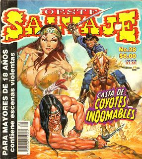 ¡Historietas Perversas!: Oeste Salvaje, No. 28