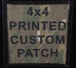 4x4 Printed Custom Patch Custom Patches Patches Custom
