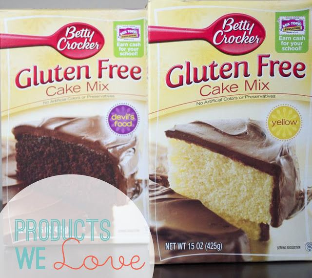 Nut Free Products From Betty Crocker Cake Mixes