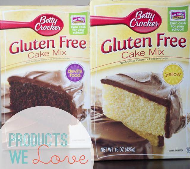 Products We Love Betty Crocker Gluten Free Dairy Free Cake Mix