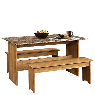 Tremendous Home Shamrock Makeover Dining Table With Bench Trestle Forskolin Free Trial Chair Design Images Forskolin Free Trialorg