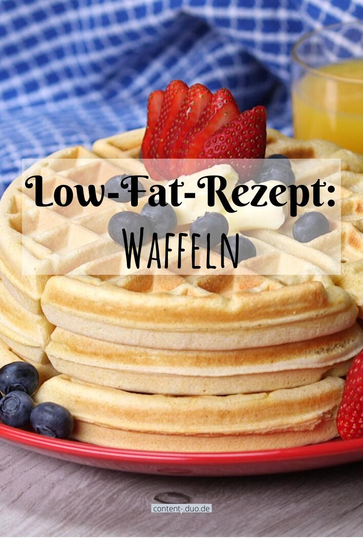 Low-Fat-Rezept: Waffeln