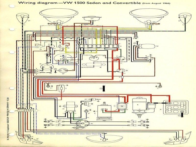 thesamba  type 1 wiring diagrams  wiring forums  vw