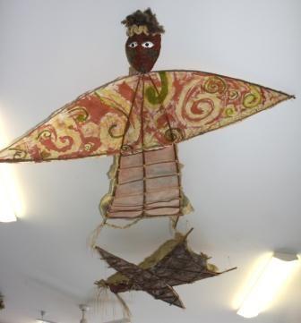 how to make manu tukutuku kites