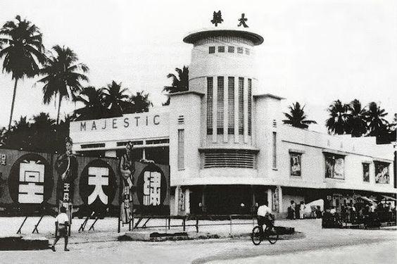 Majestic Theater Jalan Pudu Circa 1950 S