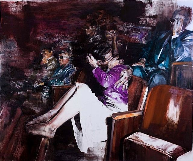 A Momentary Rise Of Reason Paintings by Dan Voinea