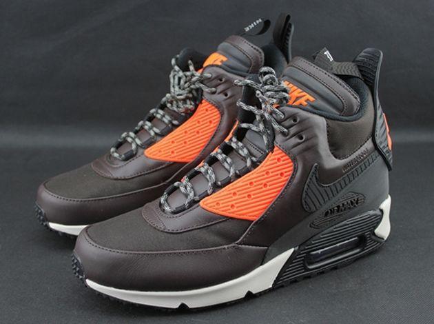 reputable site c7fb9 97279 Nike Air Max 90 Sneakerboot Winter - Velvet Brown / Black ...