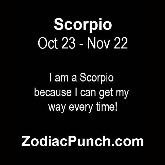 Scorpio facts from ZodiacSigns.com | Scorpio facts from ZodiacSigns.com