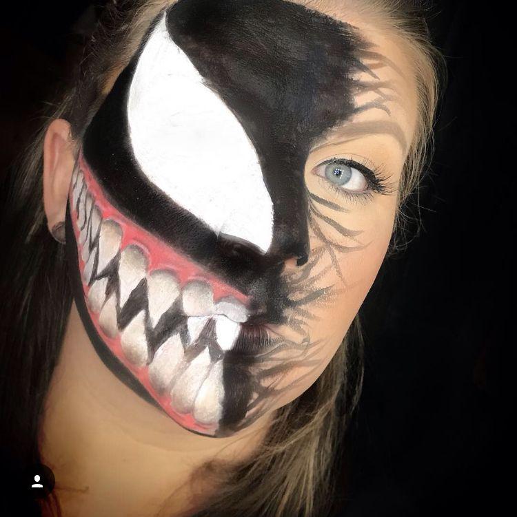 меркулова веном рисунки на лице тяжёлые погрузочно