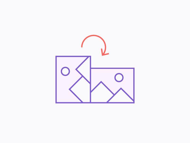 Orientation correction oriental design correction