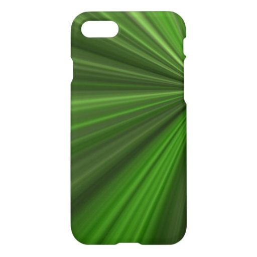 This is gorgeous Green Burst iPhone 7 Case 25% off #zazzle www.leatherwooddesign.com