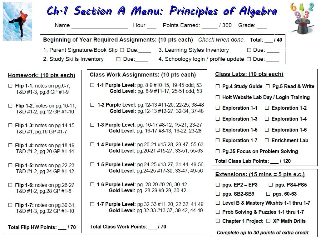 Holt Algebra 2 Worksheet Answers