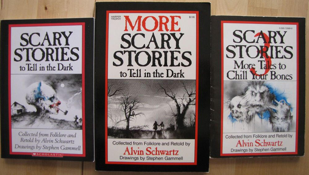 Alvin Schwartz Scary Stories To Tell In The Dark Lot Set 3 Books More VGUC