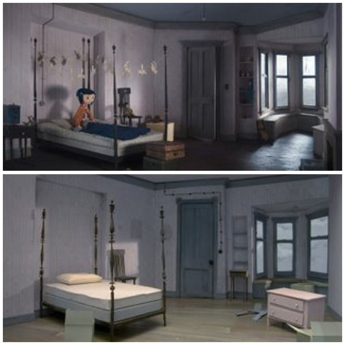 Coraline Bedroom Cold Coraline Aesthetic Coraline Jones Coraline