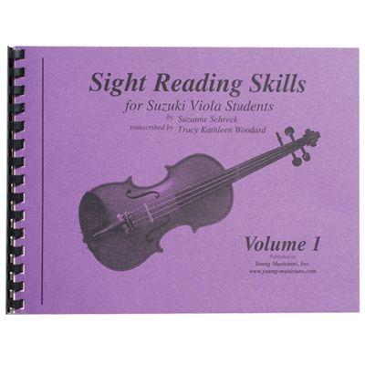 Sight Reading Skills For Suzuki VIOLA students  Vol  1 By