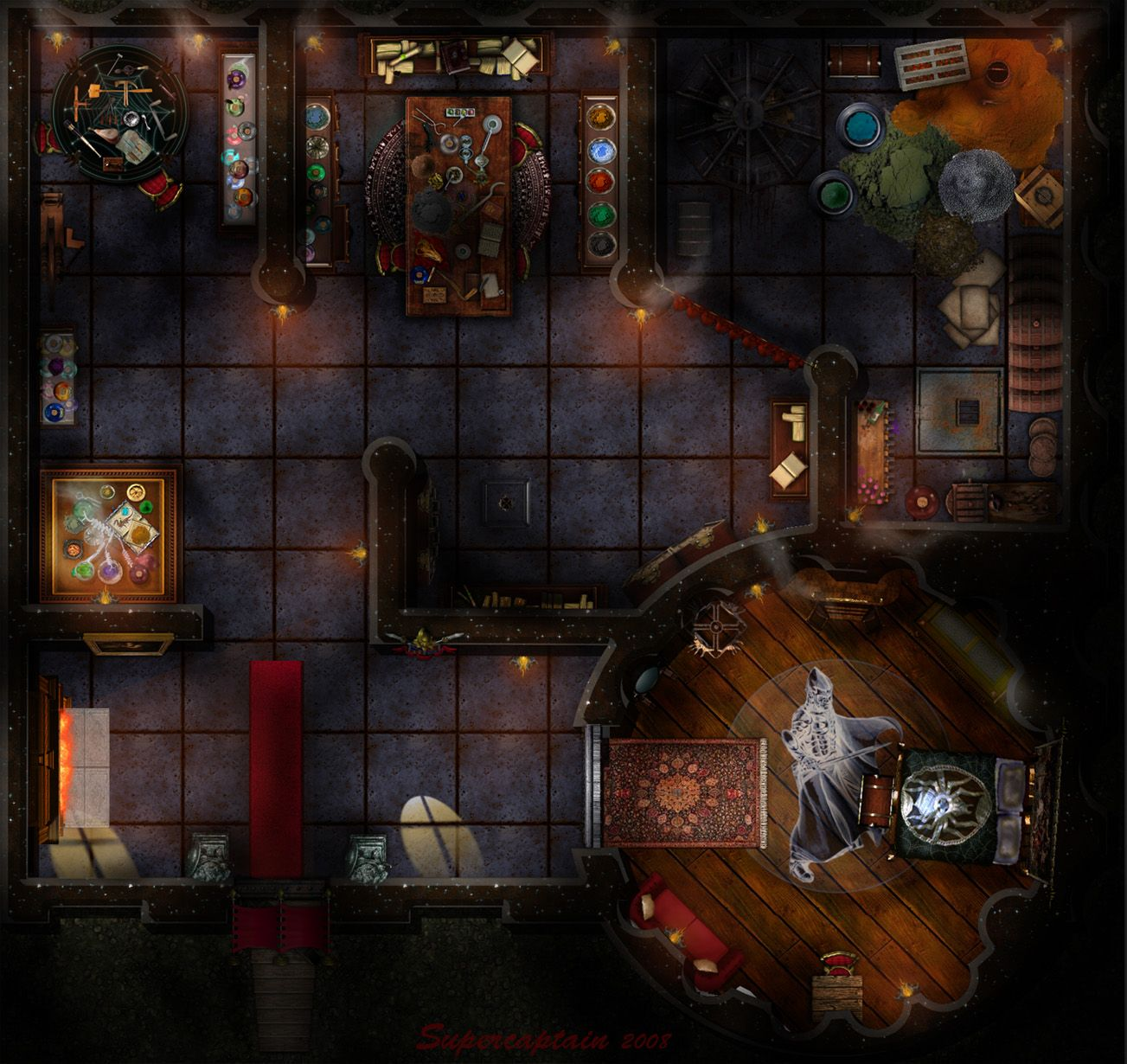 Dundjinni Mapping Software Forums Map Challenge 3 1st Map Posted Sc Fantasy Map Dungeon Maps Tabletop Rpg Maps