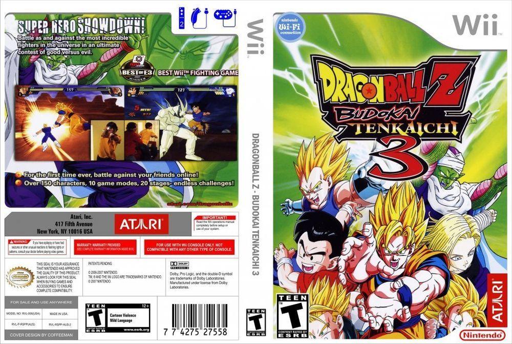 Dragon Ball Z Budokai Tenkaichi 3 Wii 2007 Arquitectos