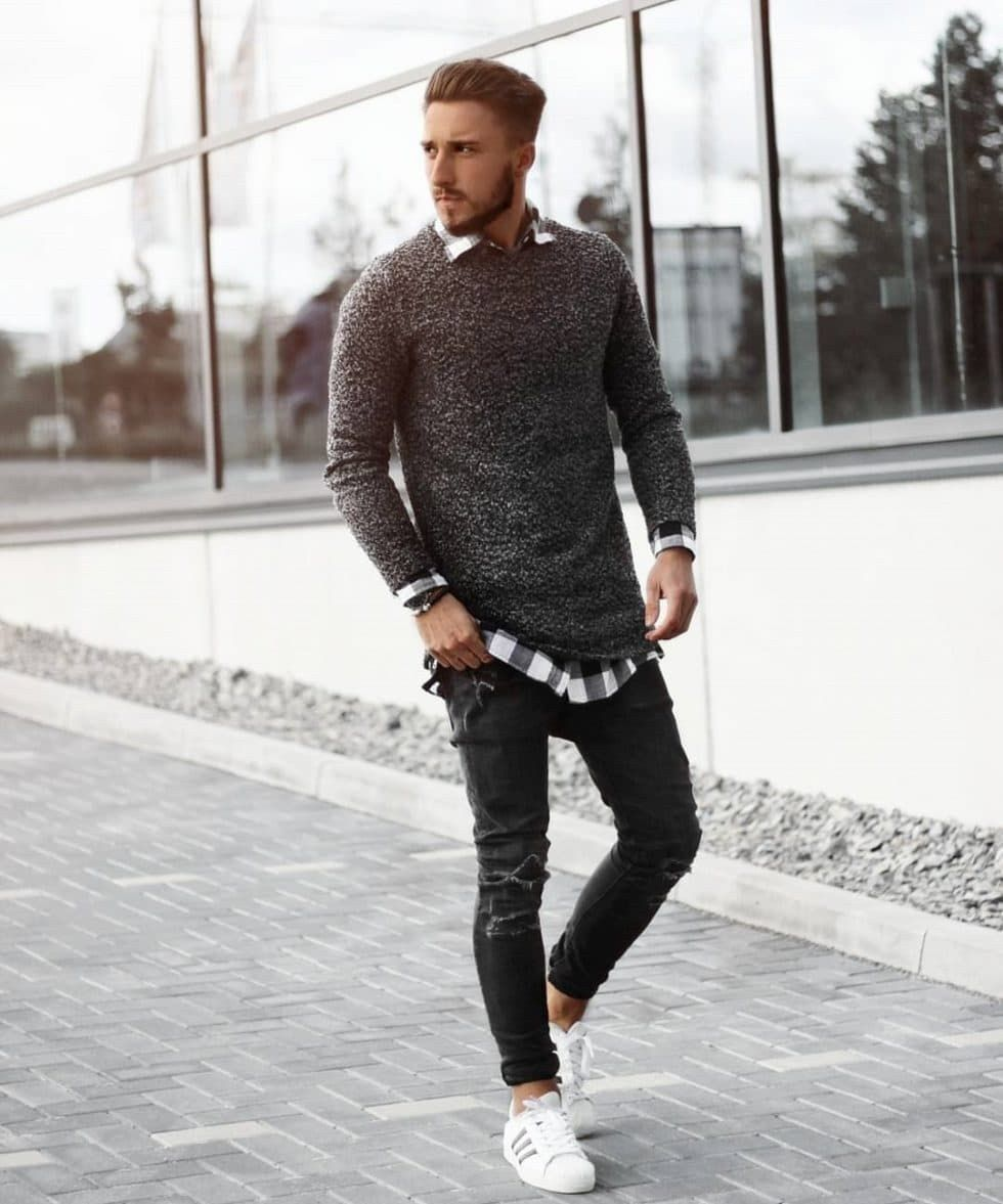 Super Casual Fall Outfits For Men 17 | Winter outfits men