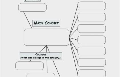 Nursing Concept Map Template or 58 Good Sample Nursing ...
