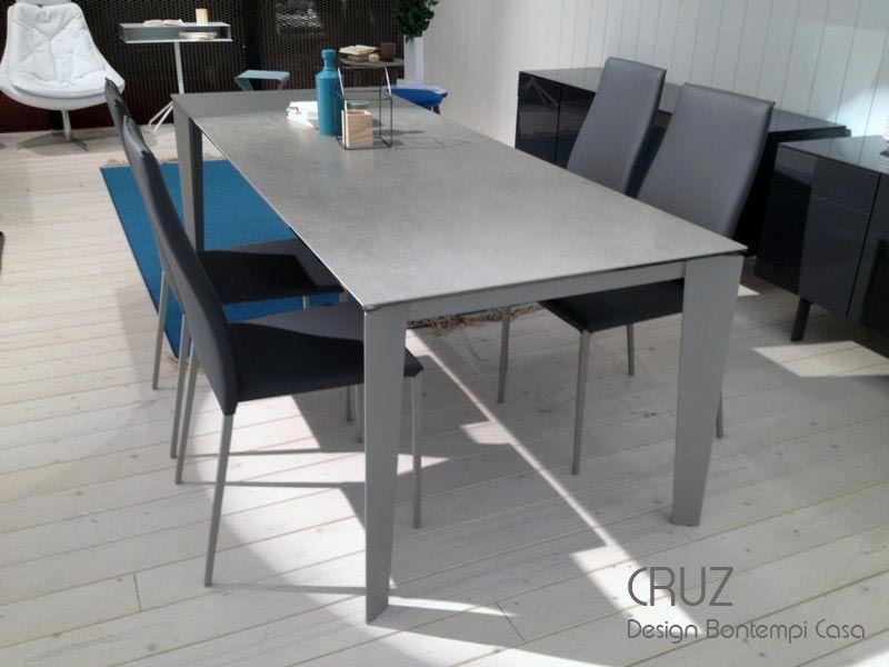 Table extensible CRUZ, 120 - 170 x 80 cm, Design By BONTEMPI CASA ...
