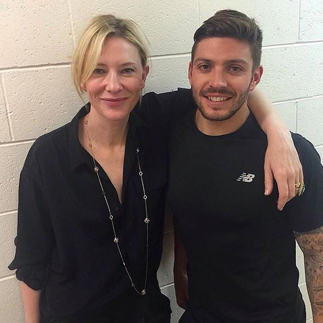 Cate Blanchett And Her Fitness Trainer For Thor Cate Blanchett