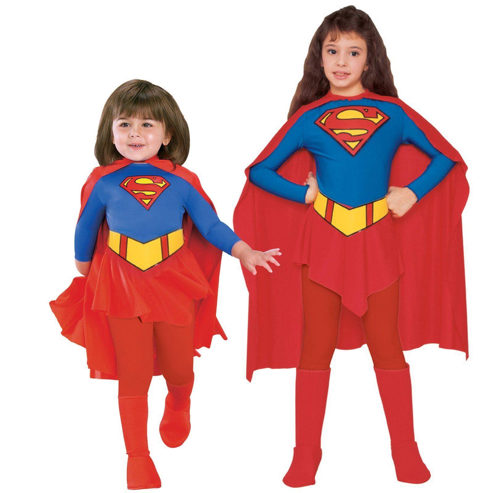 Kids Supergirl DC Comics Girls Costume | Supergirl costume ...Superwoman Costume For Teenagers