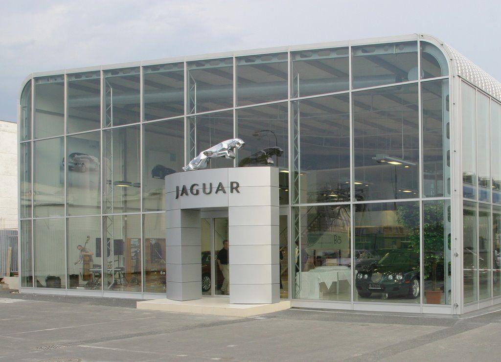 Jaguar showroom in 2019