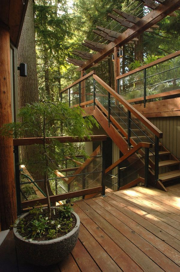 How To Design Exterior Stairs #exteriordecor