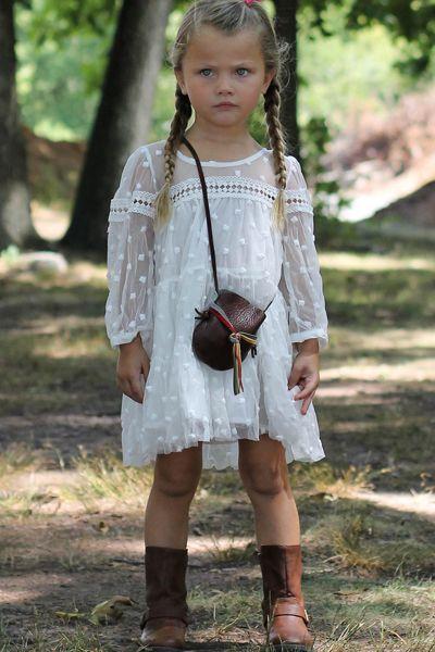 74e705974f Boho Lace Dress | Coachella Festival Bohemian Style | Girls lace dress,  Hippie kids, Bohemian kids