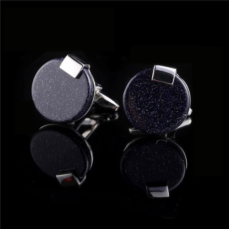 GAGAFEEL 1 Pairs Men Cufflinks High Quality Shirt Round Square ...