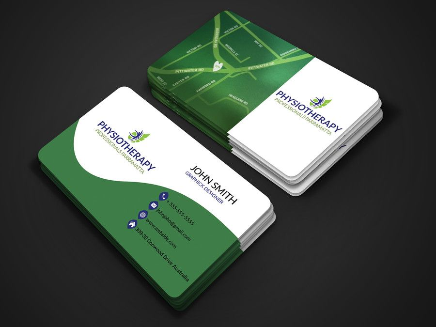 Blog Post 11 Classic Business Card For Physiotherapy Singapore Classic Business Card Business Cards Cards