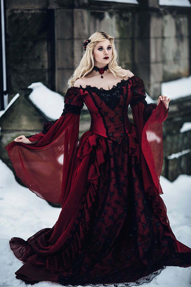 New! Gothic Sleeping Beauty or Medieval Fantasy Gown Custom ...