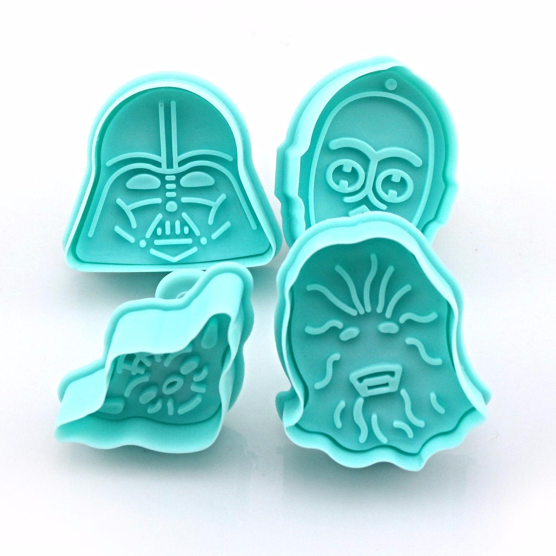 Star Wars - Cookie Plunger Cutter Set