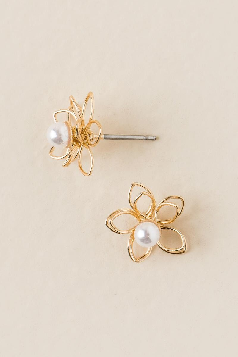studs stud ball solid gold yellow product earrings knob