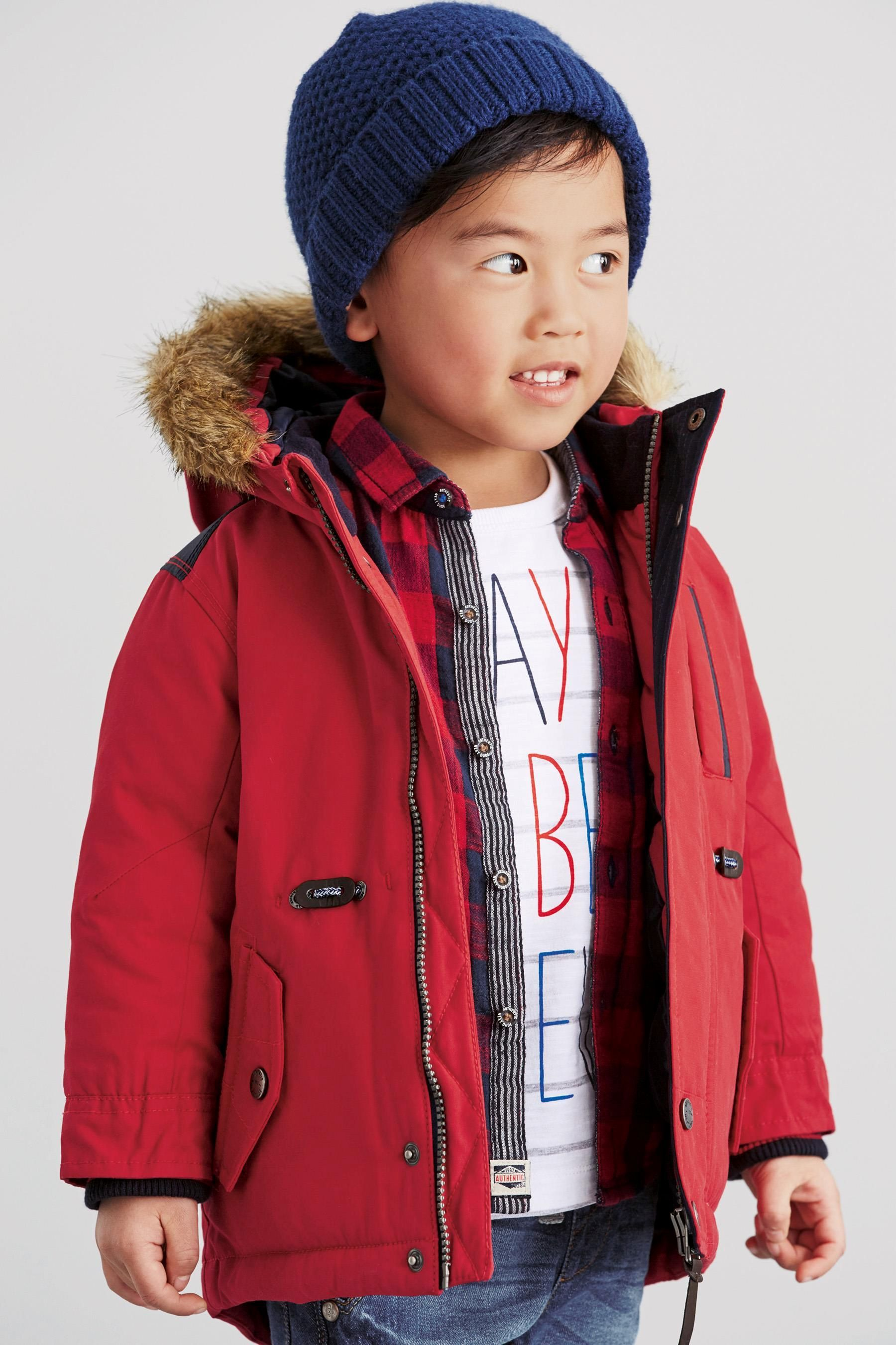dda97f13a2cf Buy Parka Jacket (3mths-6yrs) from the Next UK online shop