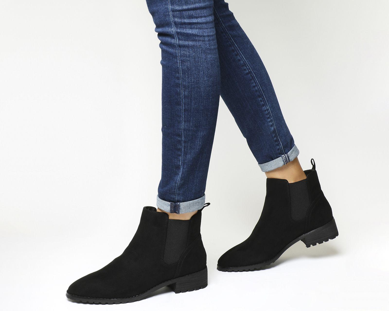 Office Allie Chelsea Boot Black - Ankle