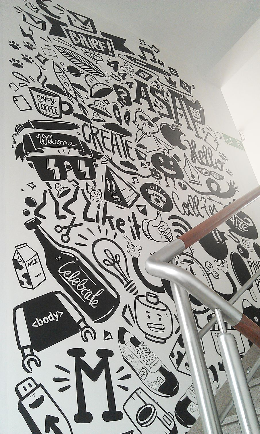 Agency life mural peterjaycob wall murals illustrations and walls agency life mural peterjaycob amipublicfo Choice Image