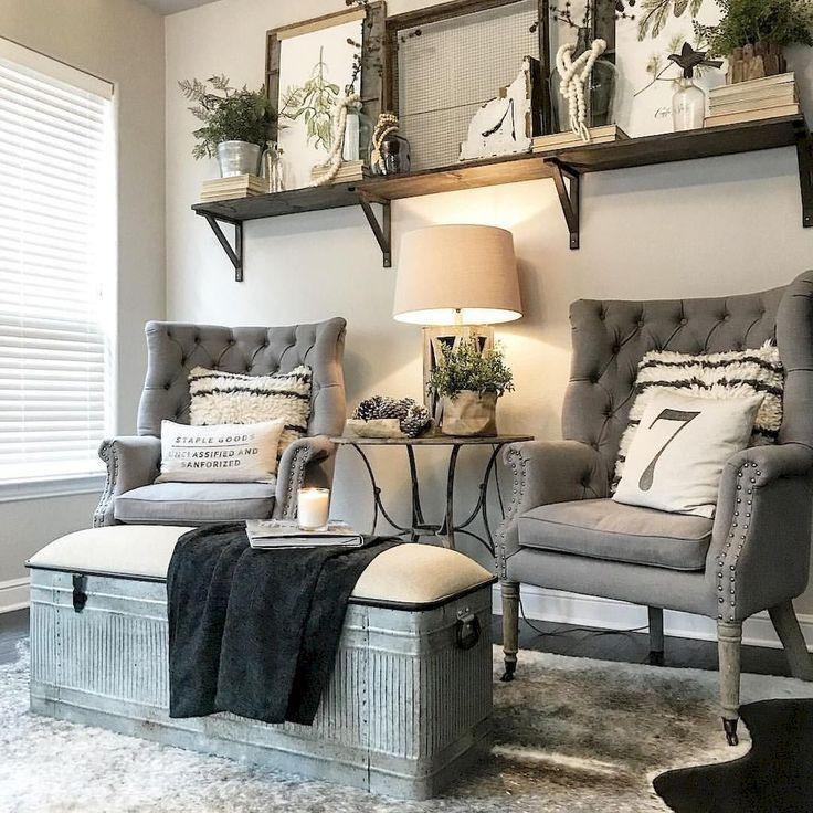 Photo of 80 Fancy French Country Living Room Decor Ideas #livingroom #livingroomideas #fa…