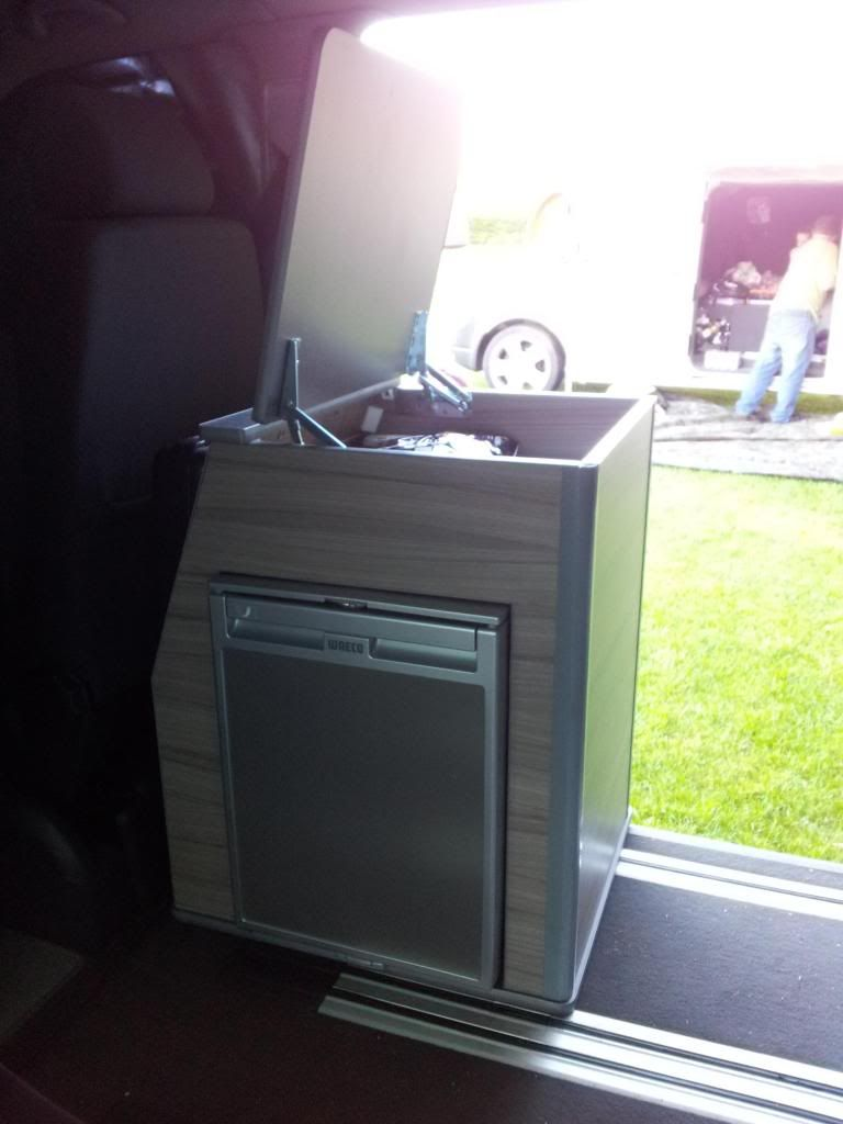 Caravelle Rail Kitchen Pods Are In   VW T4 Forum   VW T5 Forum