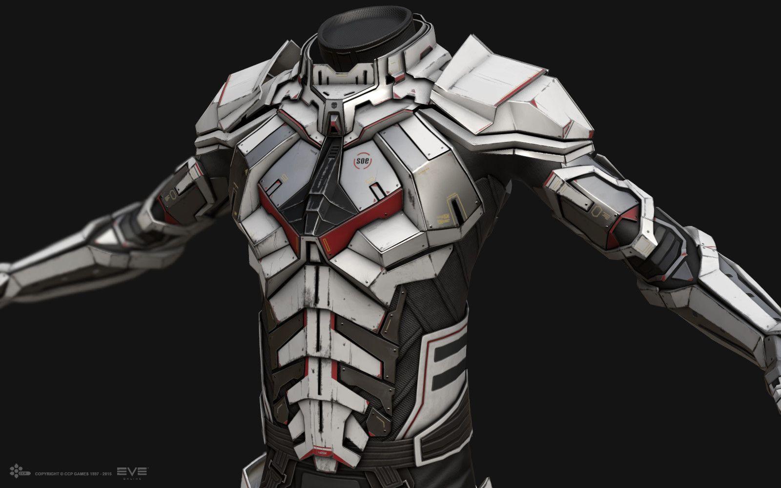 ArtStation EVE Online Combat Suit InGame, Jakob