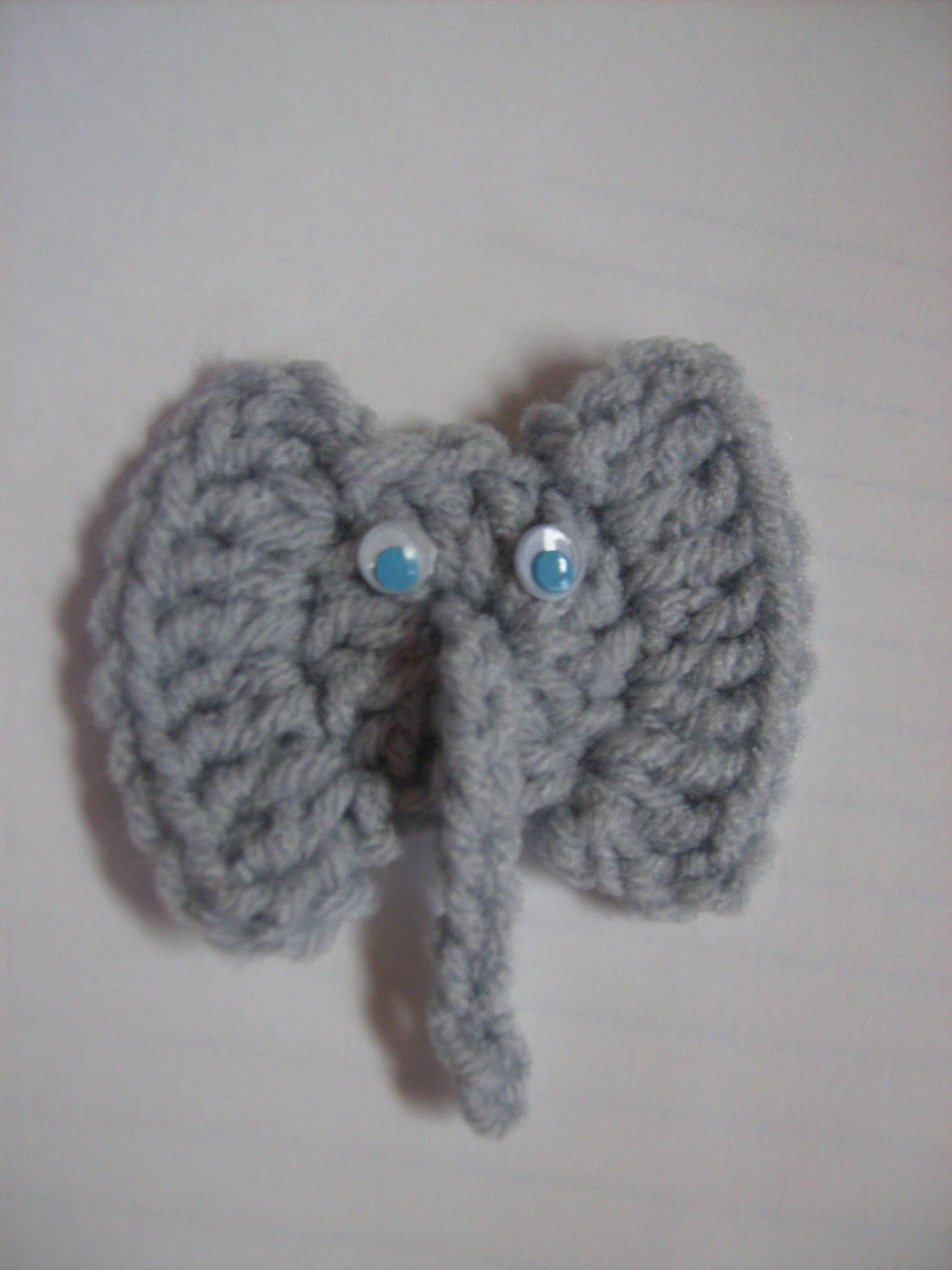 Free Crochet Elephant Pattern Posted The Pattern For My Elephant