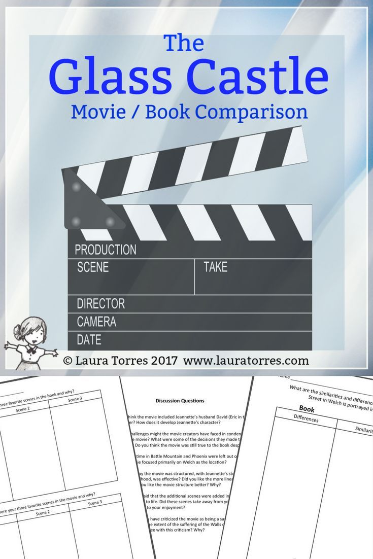 The Glass Castle Movie Book Comparison And Discussion  Essay  The Glass Castle Movie Is True To The Story But Has Some Significant  Creative Differences From The Book Perfect For Secondary Analyses And