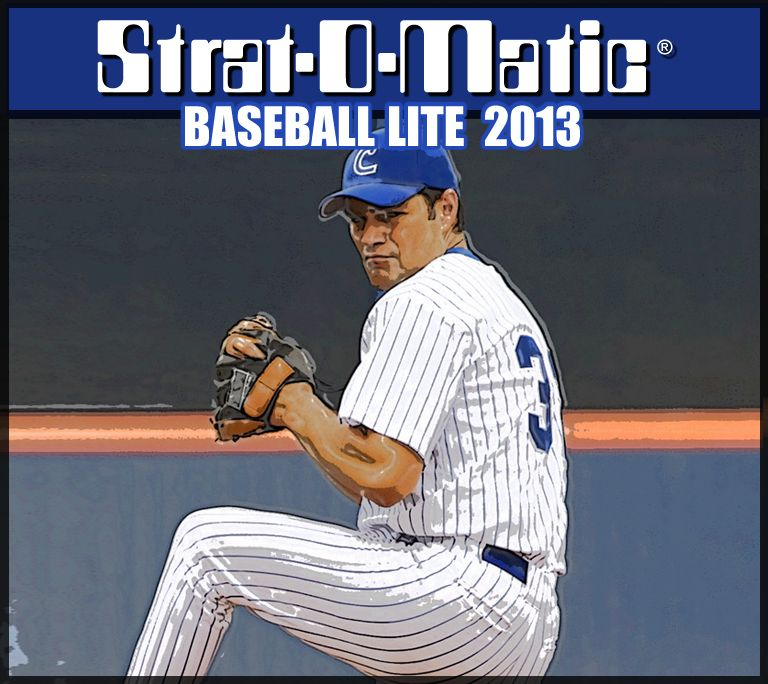 StratOMatic Baseball Lite 2013 (available via EDelivery