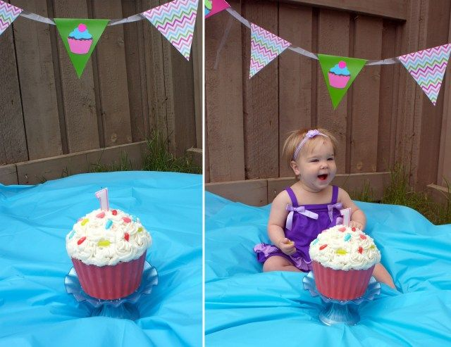 28+ Giant Cupcake Cake For 1St Birthday #giantcupcakecakes
