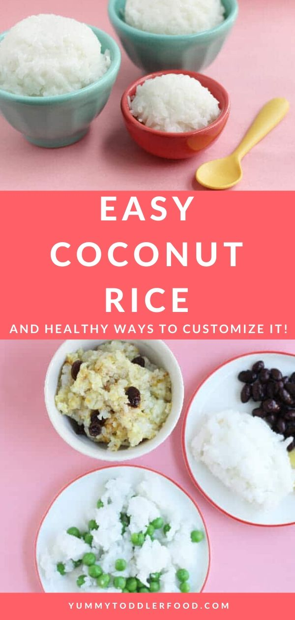 How to Make Coconut Rice | Recipe | Rice recipes for kids ...