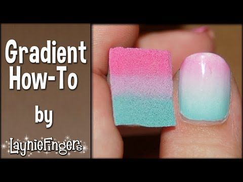 Layniefingers Tutorial How To Do Grant Nails With A Sponge