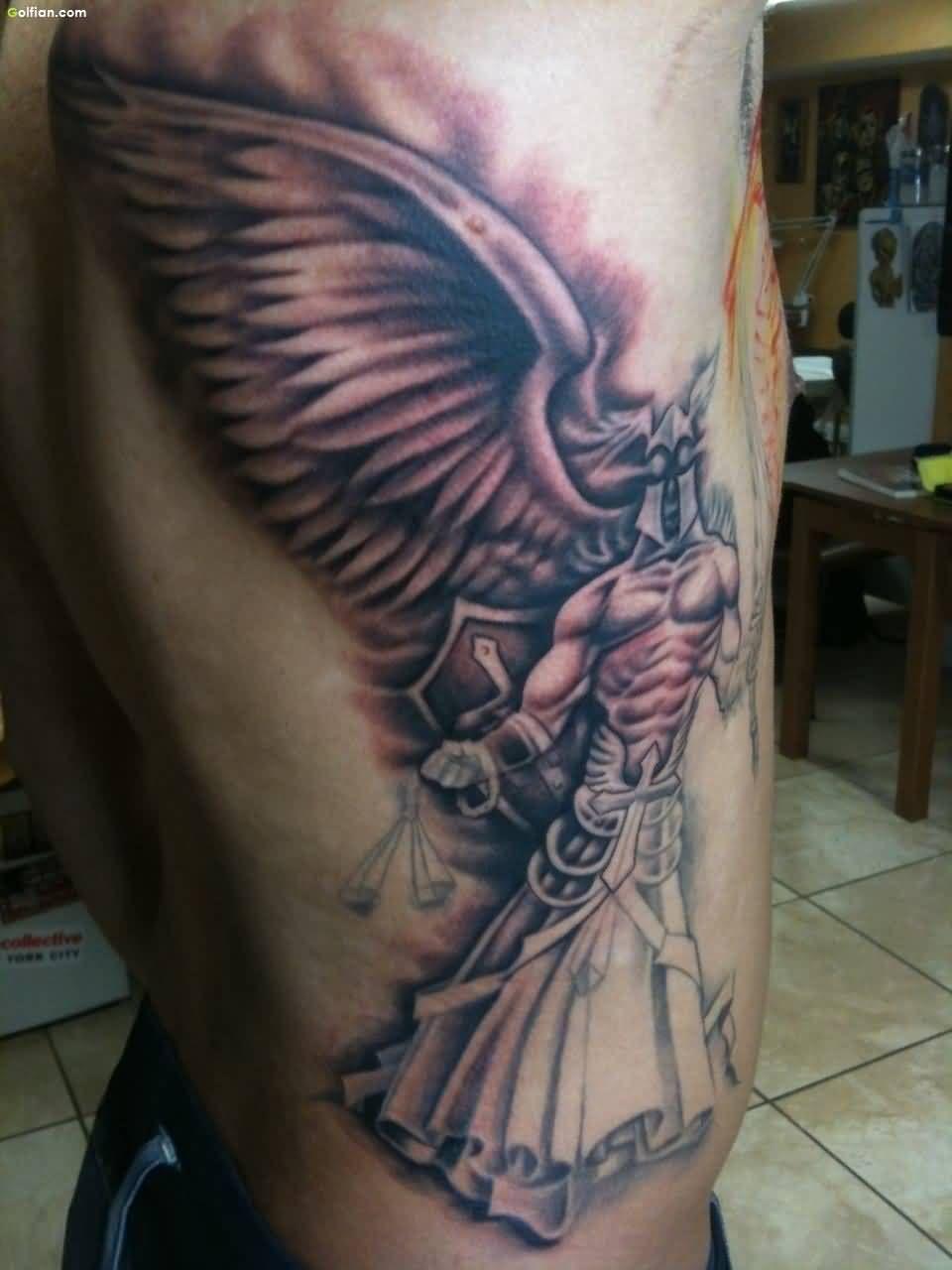 Most Beautiful Angel Tattoos Images Popular Angel
