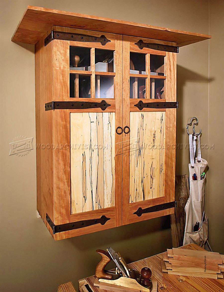3202 Wall Tool Cabinet Plans Workshop Solutions Diy Projects In
