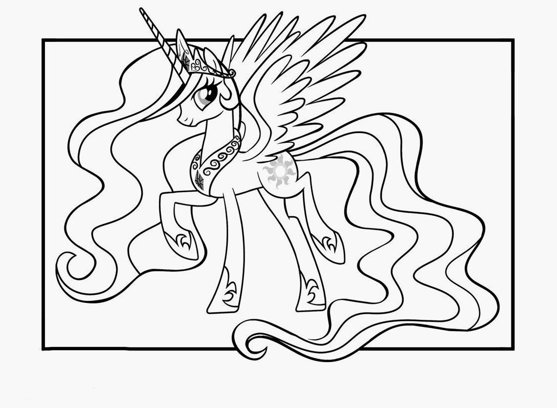 70 coloriage a imprimer licorne et princesse #imagede | My little pony coloring, Princess ...